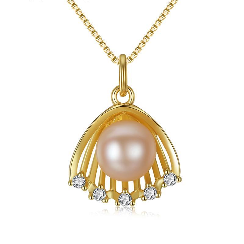 Dây Chuyền Ngọc Trai Cao Cấp DB2329 Cỡ Hạt 6x6 Bảo Ngọc Jewelry