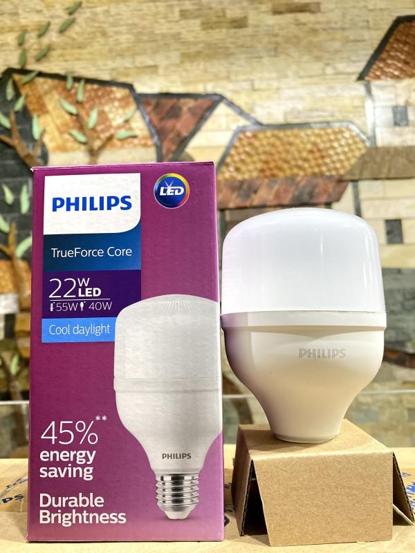 Bóng đèn Led trụ Siêu sáng Philips TForce Core HB MV  22W Trắng Vàng Gen 3 E27