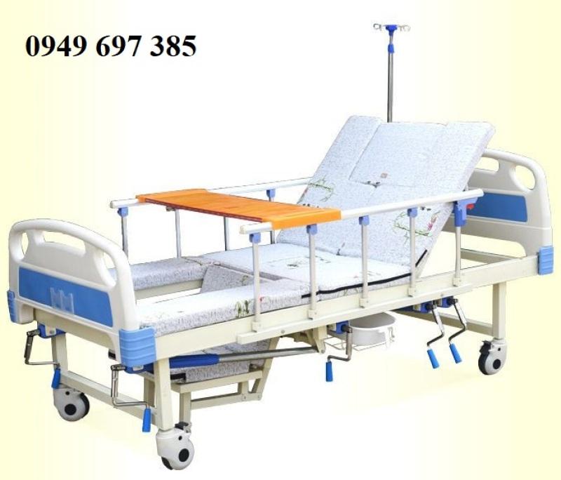 Giường y tế đa chức năng 4 tay quay