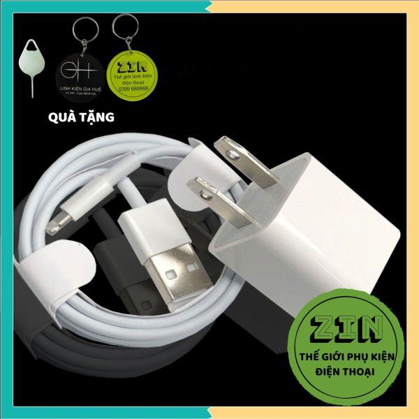 [COMBO SẠC IPHONE USB ] BỘ SẠC IPHONE USB CHÍNH HÃNG 😍 QUÀ TẶNG 😍 Bộ sạc nhanh, bền - Màu trắng Mã BSUSB