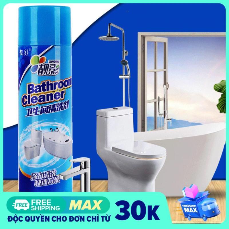 Chai xịt bọt tuyết tẩy rửa vệ sinh nhà tắm Bathroom Cleaner 500ml