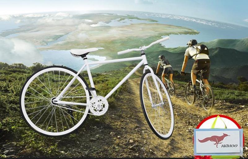Mua HAHOO - Xe đạp thể thao FIXED GEAR - phong cách sành điệu