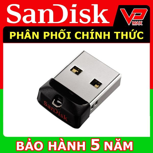 Bảng giá USB 32GB, 16GB Sandisk CZ33 mini siêu nhỏ cho xe hơi Bảo hành 5 năm - vpmax Phong Vũ