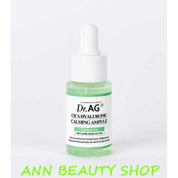 Tinh chất rau má DR.AG+ Cica hyaluronic calming Ampule 25ml nhập khẩu