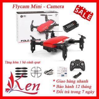 Máy bay flycam điều khiển từ xa - Máy bay camera mini siêu nhỏ kết nối wifi quay phim chụp ảnh phiên bản nâng cấp- Flycam- Máy bay camera mini- Máy bay camera điều khiển từ xa thumbnail