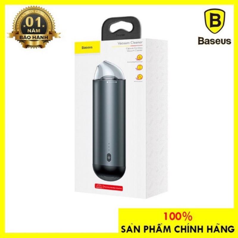 Máy Hút Bụi Mini Baseus Vacuum Cleaner Lực Hút 4000 Pa Hút Sạch Mọi Bụi Bẩn