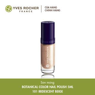(Date 02 2022) Sơn Móng Yves Rocher Botanical Color Nail Polish 101 Irdescent Beige - 5ml thumbnail