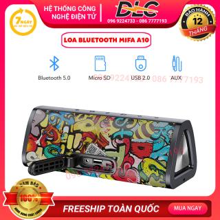 [VOUCHER 8% GIẢM 800k] Loa Bluetooth 5.0 Cỡ Lớn Loa Di Động Không Dây MIFA A10 PLUS Với Âm Trầm 3D Stereo Vượt Trội Chống Bụi IP56 Thời Gian Phát 24 Giờ Đĩa Flash USB tích Hợp Micro Khe Cắm Thẻ Micro SD Đầu Vào Âm Thanh thumbnail