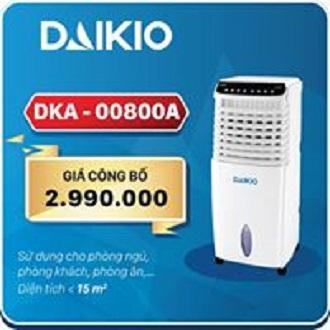 Bảng giá MÁY LÀM MÁT KHÔNG KHÍ Daikio DKA-0800A