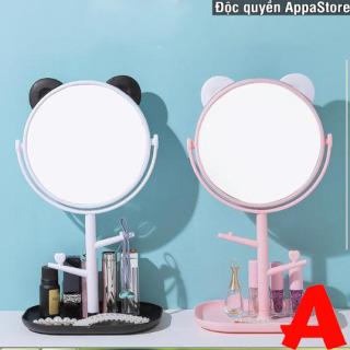 Gương để bàn tai mèo - Gương trang điểm tai mèo Appa Store thumbnail