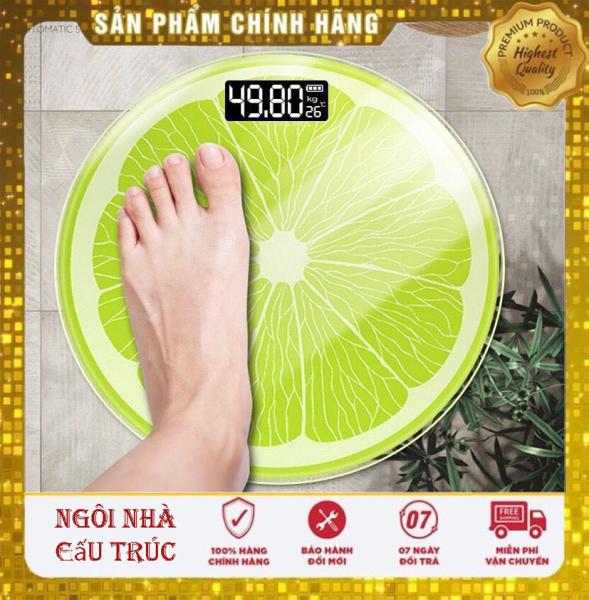 [ Bảo hành 12 tháng ] Cân sức khỏe hình quả chanh 180kg chuẩn xác chất lượng cao cao cấp