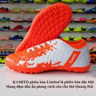Giày đá bóng Kamito Qh19 chính hãng (màu cam) thumbnail