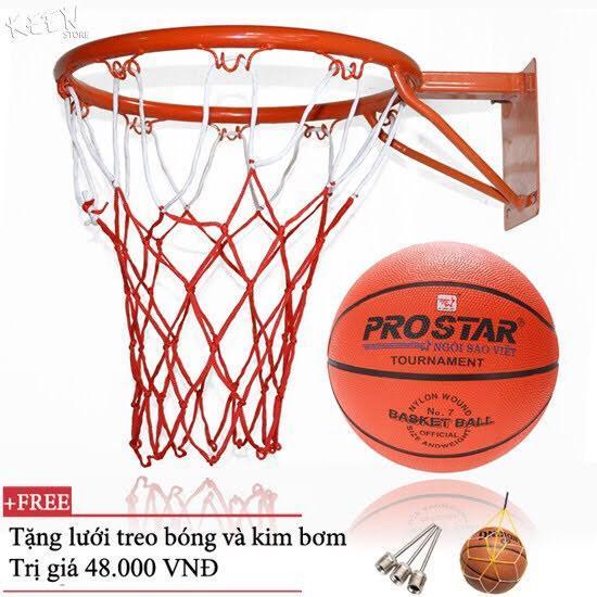 Combo Bộ Khung Bóng Rổ và quả bóng rổ số 3 số 5 số 6 số 7 cho bạn lực chọn ĐỒ TẬP TỐT