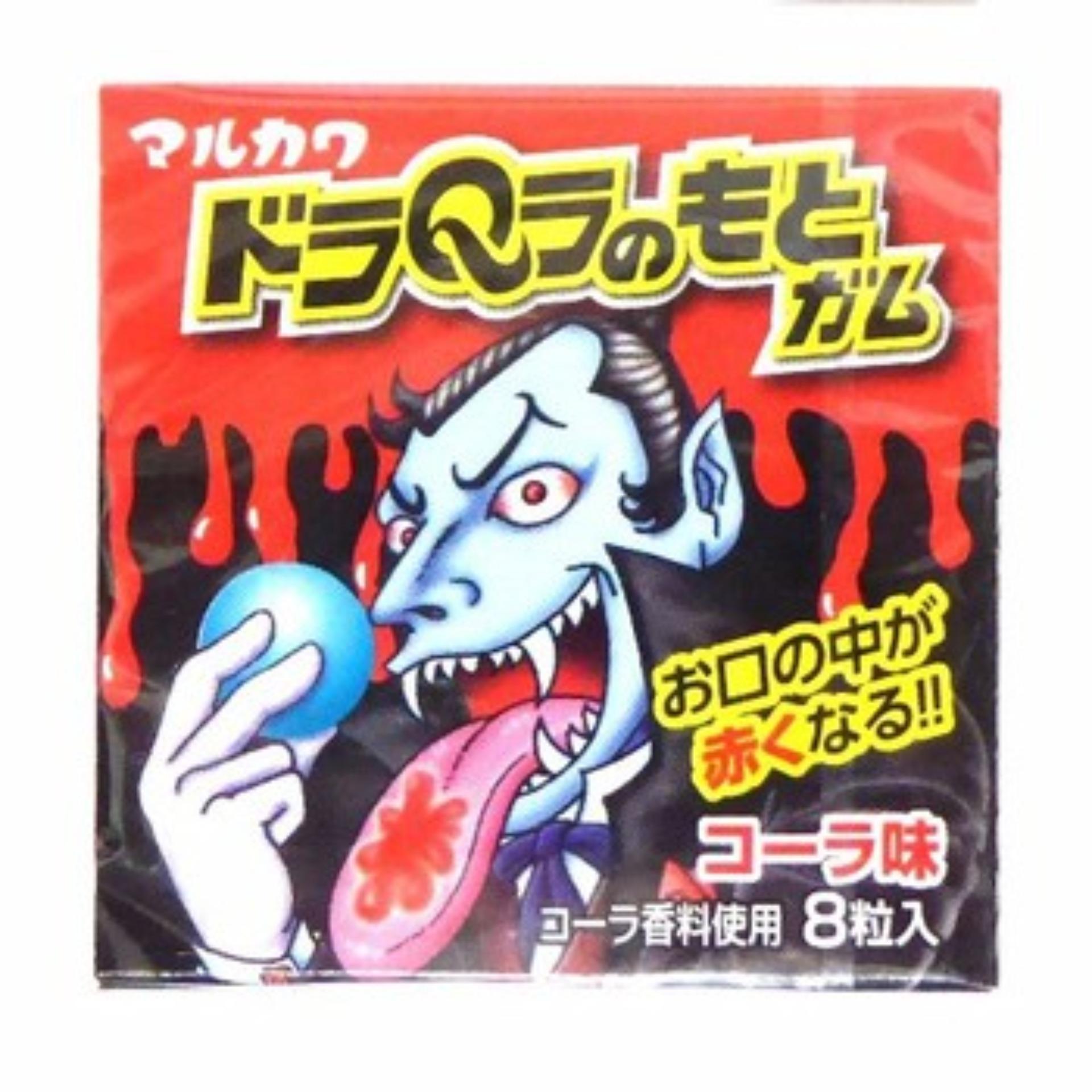 Kẹo nhuộm lưỡi Marukawa Dracula đỏ (8 viên)