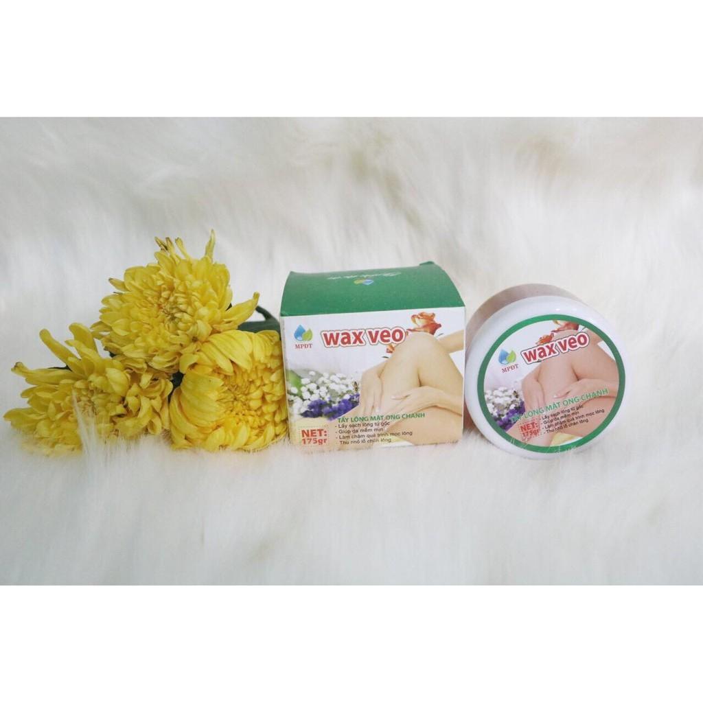 ( Tặng giấy và que)wax veo lông tại nhà với mật ong nguyên chất nhập khẩu