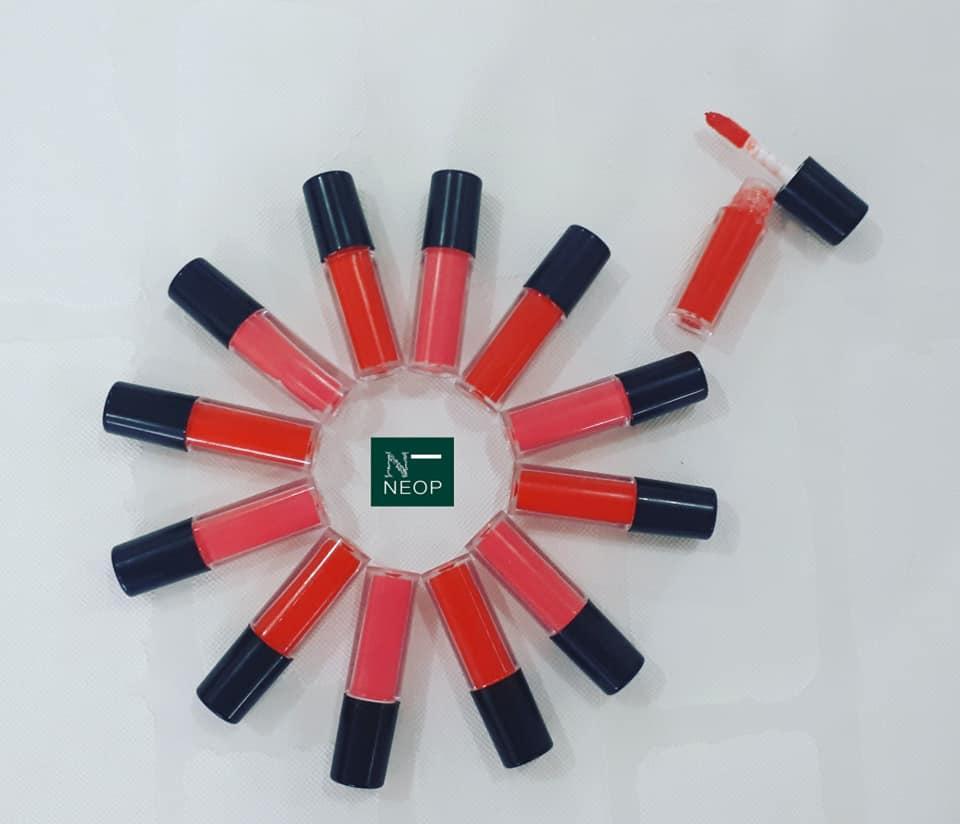Son Kem Mini Tròn Lì NEOP - Nhắn Tin Chọn Màu - Nhiều Màu Xinh Xắn nhập khẩu