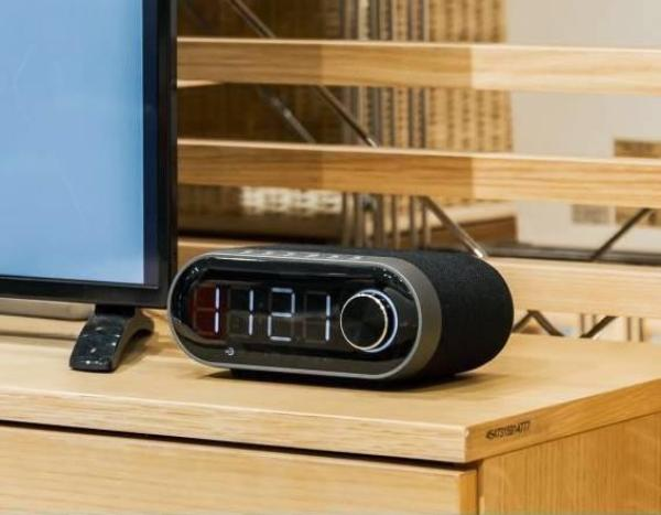 Loa Bluetooth kiêm đồng hồ báo thức Remax RB-M26 giá rẻ
