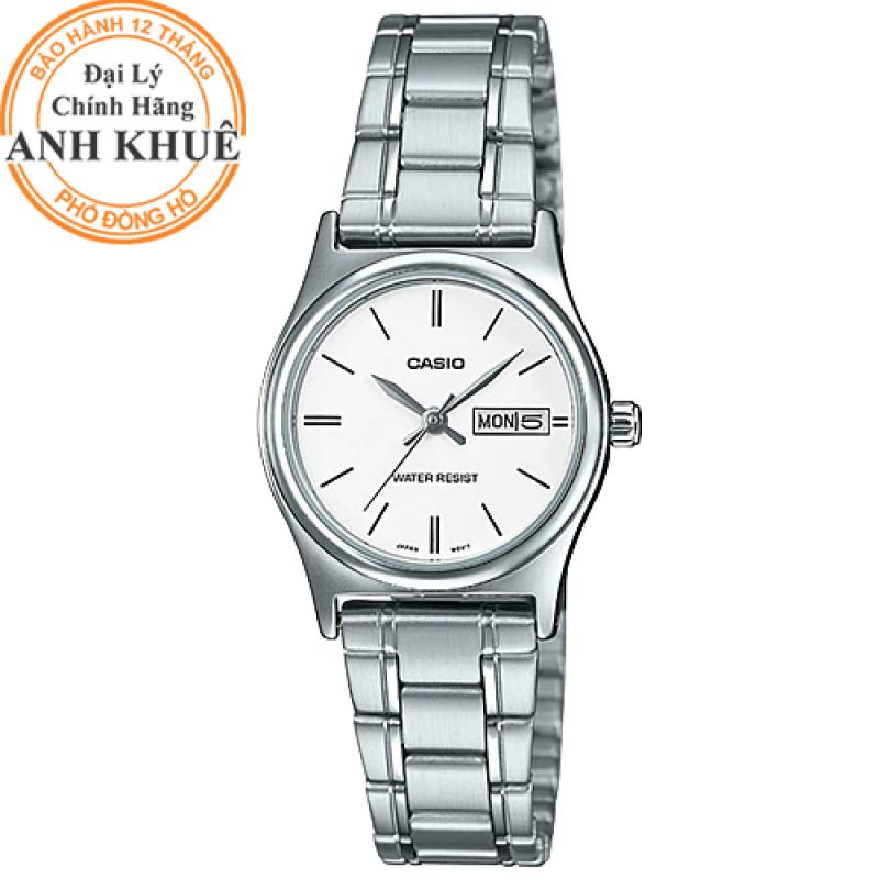 Đồng hồ nữ dây kim loại Casio Anh Khuê LTP-V006D-7B2UDF