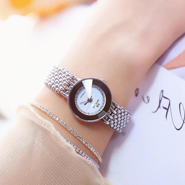 [HCM]Đồng hồ nữ dây kim loại Bee Sister  1199