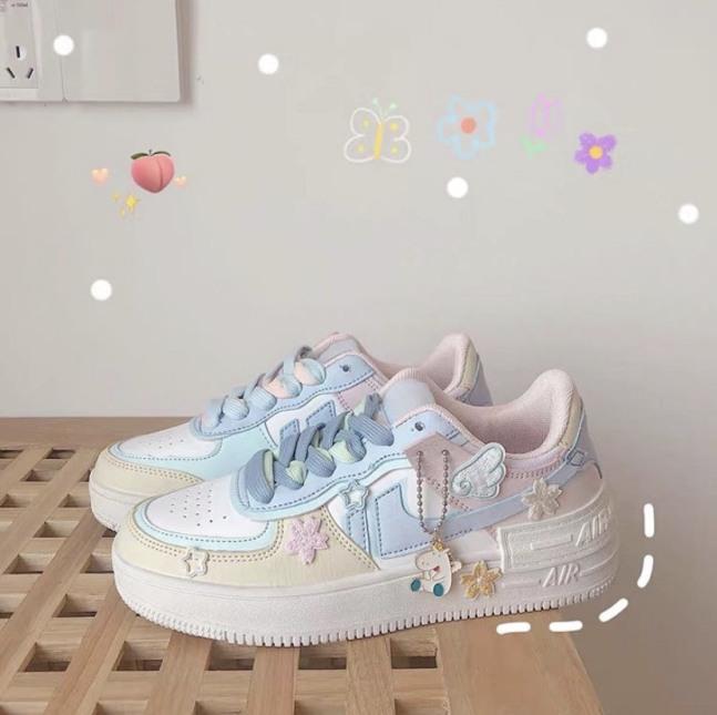 Giày Thể Thao Sneaker Air Phiên Bản Màu Kẹo Cực Xinh giá rẻ