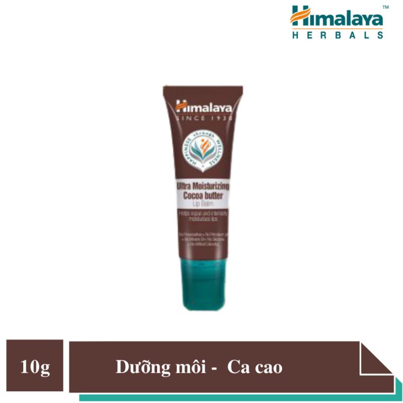 Son dưỡng môi bơ ca cao Himalaya Ultra Moisturising Cocoa Butter Lip Balm 10 g