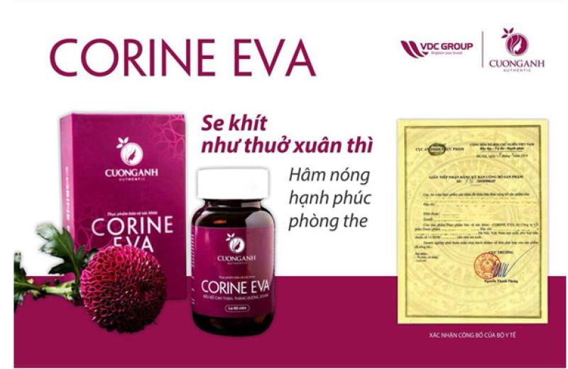 Viên uống Corine Eva
