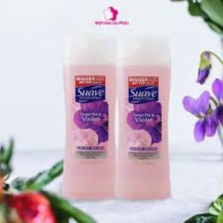 [NHẬP KHẨU MỸ]Sữa Tắm Suave Essential 443ml Hương Thơm Tự Nhiên Quyến Rũ Hoa Anh Đào, Hoa Violet, Cam Xoài, Dừa NhiệtĐới thumbnail