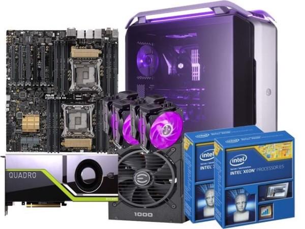 Bảng giá PC WORKSTATION VST Dual Xeon E5 2696V4/ 256GB/ RTX8000 48GB Phong Vũ