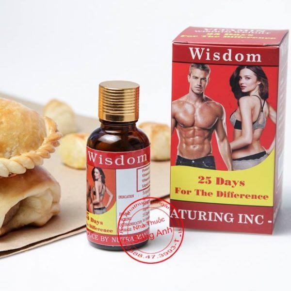 Combo 2 Hộp Tăng Cân và Cơ Bắp Wisdom Weight (Hộp 25 Viên)