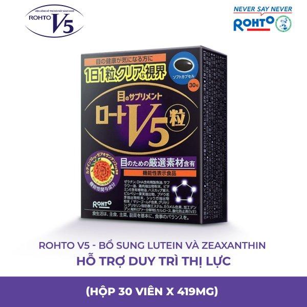 Thực phẩm bảo vệ sức khỏe Rohto V5 (nhập khẩu từ Nhật Bản)
