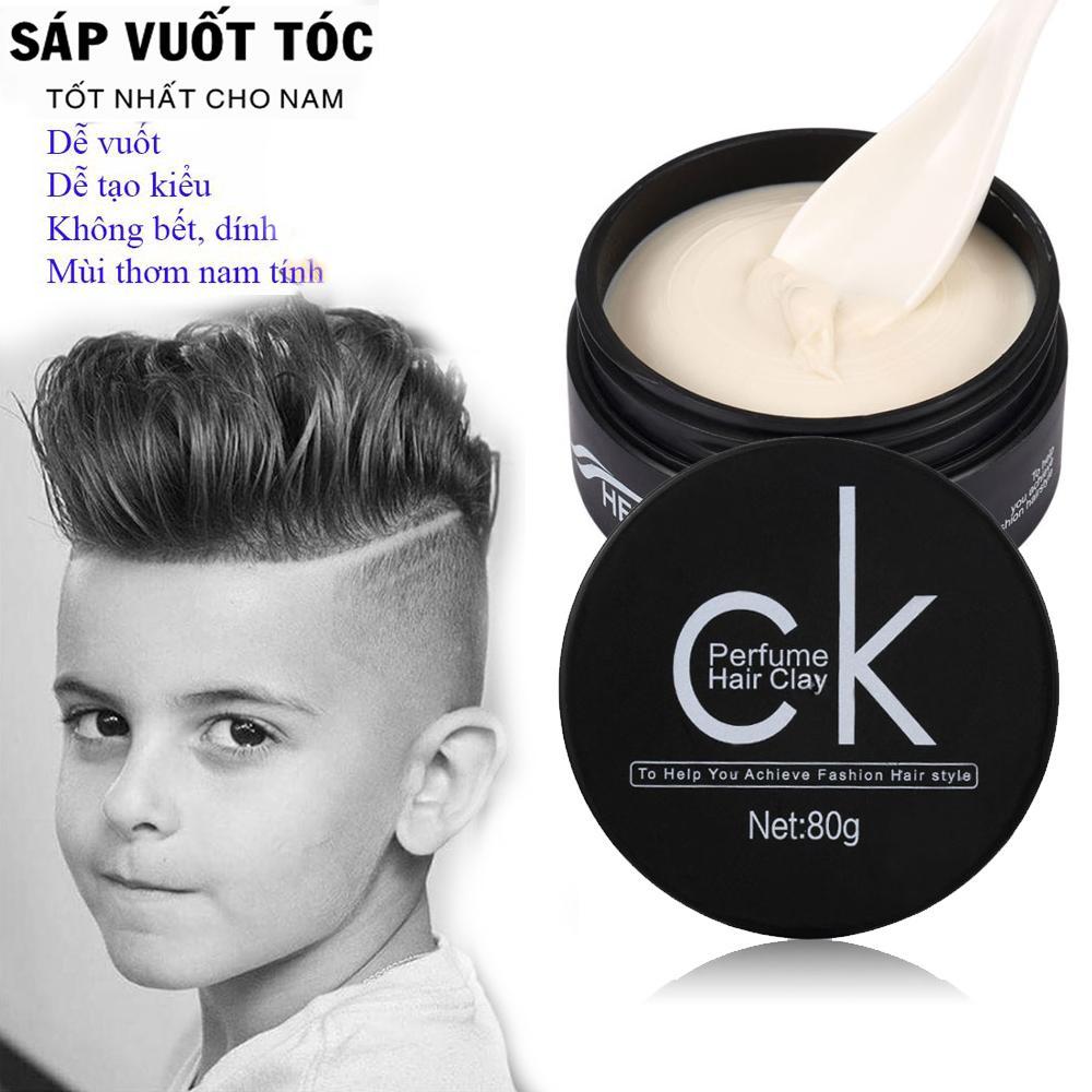 Keo Vuốt Tóc, Wax vuốt tóc tạo kiểu Nam-mã CK44. Giúp Bạn Có Một Mái Tóc Cùng Diện Mạo Hoàn Hảo Mà Trông Vẫn Rất Tự Nhiên.