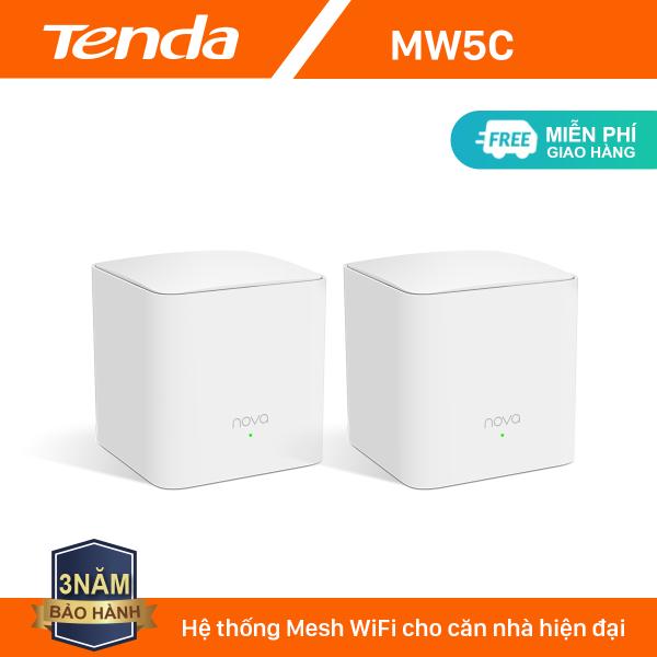 Bảng giá Tenda Hệ thống Wifi Nova Mesh cho gia đình MW5C Chuẩn AC 1200Mbps - Hãng phân phối chính thức Phong Vũ