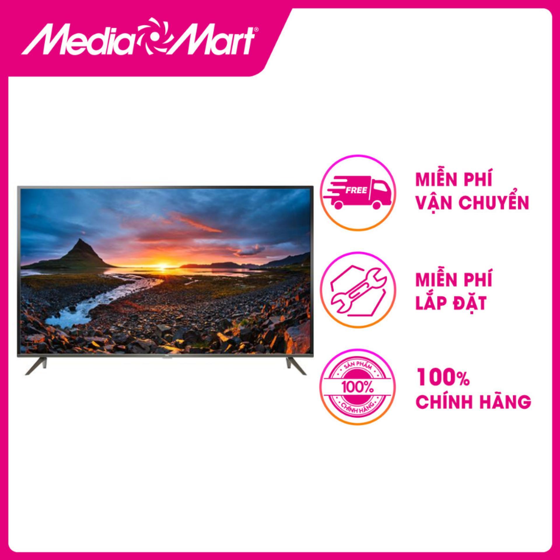 Bảng giá TV LED SMART ULTRA HD 65  TCL 65P8