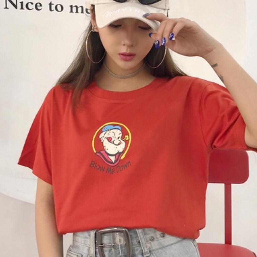 [TRANGLINHLUXURY] Áo Thun Nữ Chất Mát Thời Trang Hàn Quốc-Xả Kho Giá Rẻ