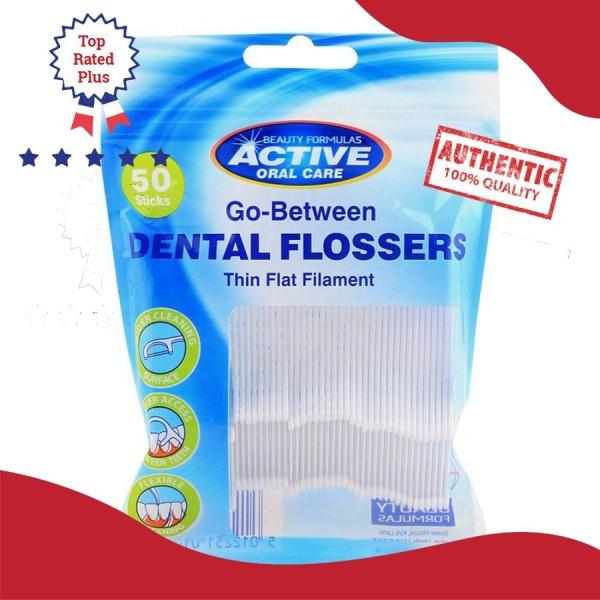 Tăm chỉ nha khoa Beauty Formulas Active Oral care Interdental Flossers - 50 cái