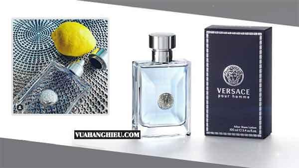 VERSACE Nước Hoa Versace Pour Homme EDT Cho Nam, 100ml Nam tính, Tươi mát