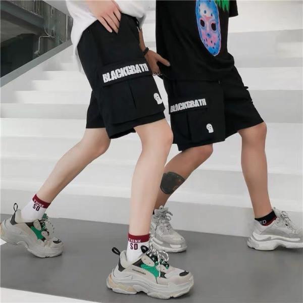 quần short kaki túi hộp chất unisex
