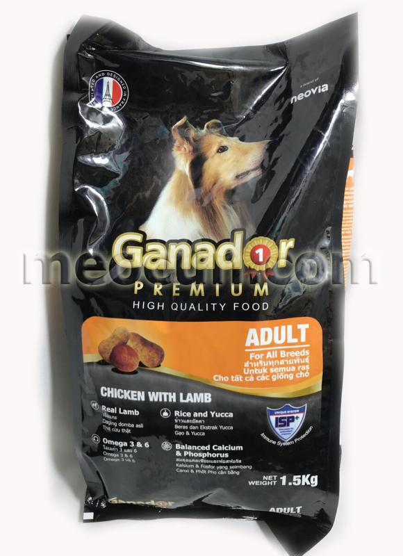 Thức ăn cho chó trưởng thành Ganador