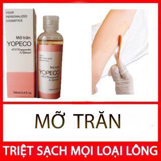 2 chai Mỡ Trăn Yopeco triệt lông giảm bỏng làm mờ sẹo dưỡng trắng da hiệu quả 100ml 100% nguyên chất, không chất bảo quản B orial Korea thumbnail