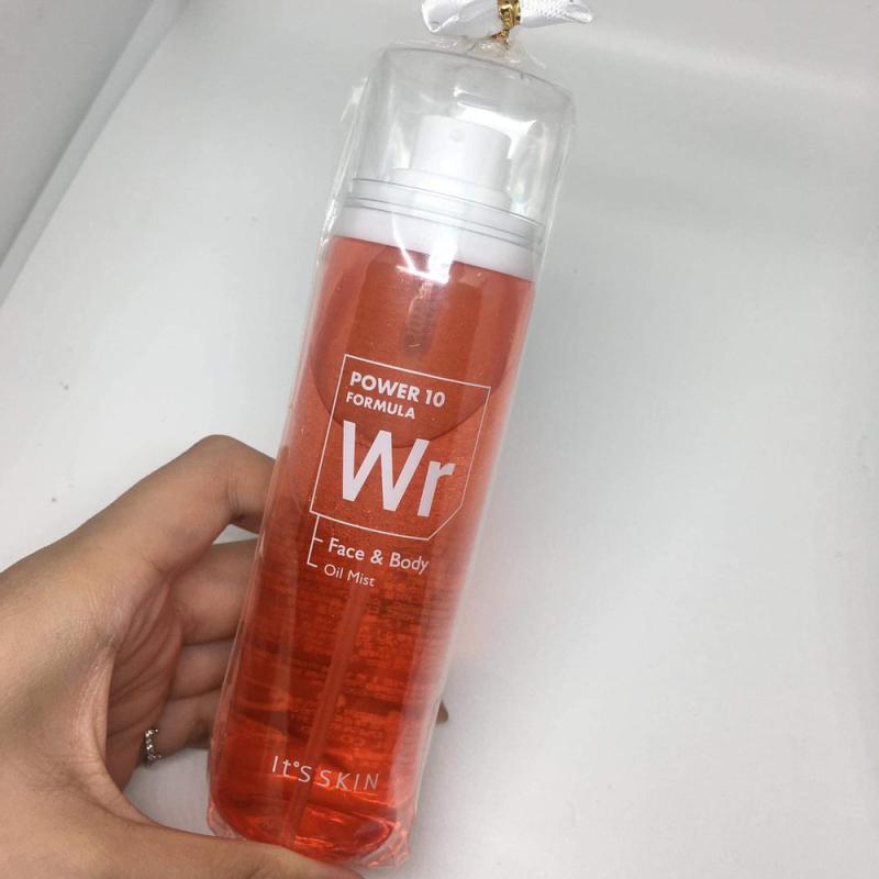 Xịt dưỡng da It's skin Power 10 Formula Wr Face & Body Oil Mist 100ml cao cấp