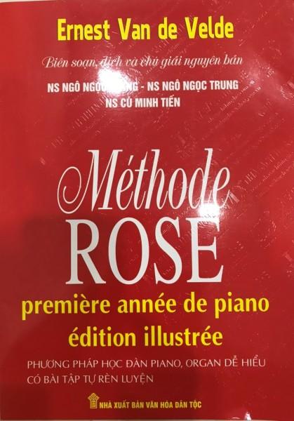 Mua Phương Pháp Học Đàn Piano Vỡ Lòng - Methode Rose (Phương Pháp Hoa Hồng) - Có Bài Tập Tự Rèn Luyện