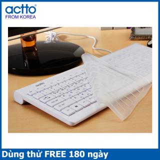 [HCM]Bàn phím văn phòng - Grain Keyboard Actto KBD-37 thumbnail