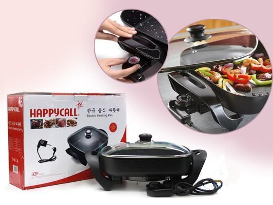 Bán nồi lẩu điện - Bếp từ chefs còn đắt hơn sản phẩm cao cấp này Bếp lẩu nướng điện đa năng Happy Call Chiên - Rán - Nướng - Lẩu ,  sản phẩm loại 1 giá ưu đãi - Dòng  sản phẩm cao cấp  - BH UY TÍN 1 ĐỔI 1.