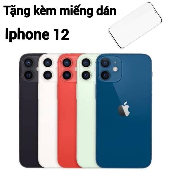 [HCM][Trả góp 0%]Điện thoại Apple iPhone 12 bản 256GB - Hàng nhập khẩu new 100% + Miếng dán cường lực