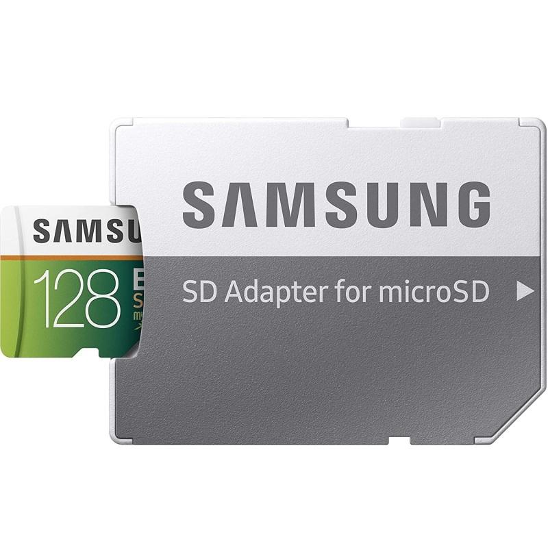 Thẻ nhớ MicroSDXC Samsung EVO Select 128GB U3 4K 100MB/s kèm Adapter (Xanh) - Không Box - Phụ Kiện 1986
