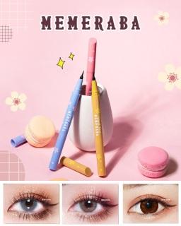 Bút kẻ mắt Nước Lâu Trôi MEMERABA Sweet Girl MB040 - Hoa Anh Đào thumbnail
