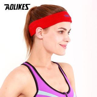 Băng Đô Băng Trán Thể Thao Nam Nữ Thấm Mồ Hôi Cotton Thoáng Khí Sport Sweatband AOLIKES A-2108 thumbnail