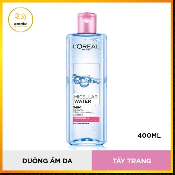 Nước Tẩy Trang LOréal Dưỡng Ẩm Cho Da Thường & Khô 400ml nhập khẩu