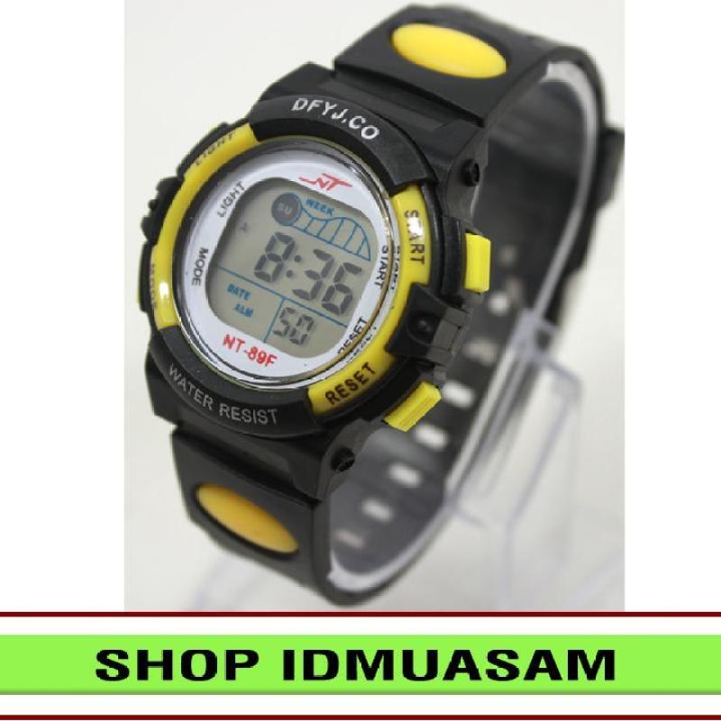 Nơi bán Đồng hồ điện tử trẻ em IDMUASAM 2443 (Vàng)