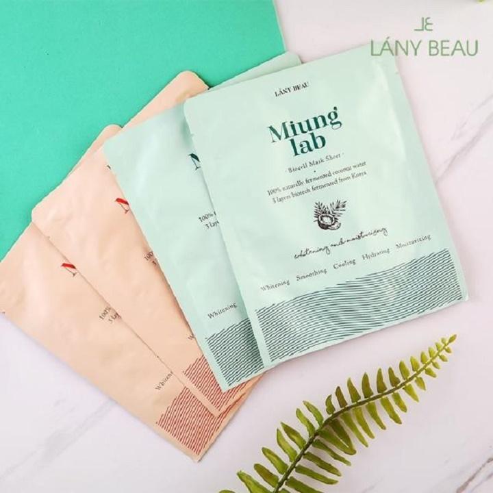 Hộp 7 gói mặt nạ sinh học dưỡng da Miung Lab Hàn Quốc